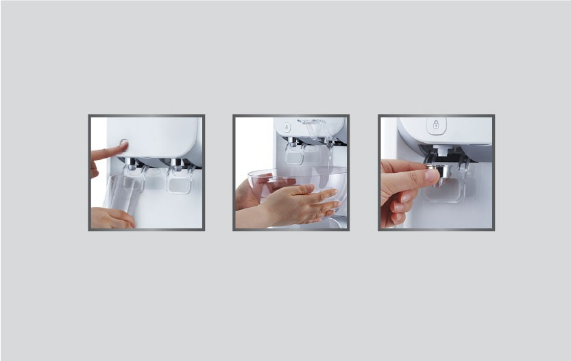 KoriHome WPK-916 được trang bị khóa vòi nước an toàn