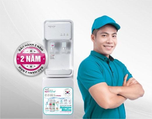máy lọc nước tích hợp nóng lạnh KoriHome WPK-910 được bảo hành 2 năm