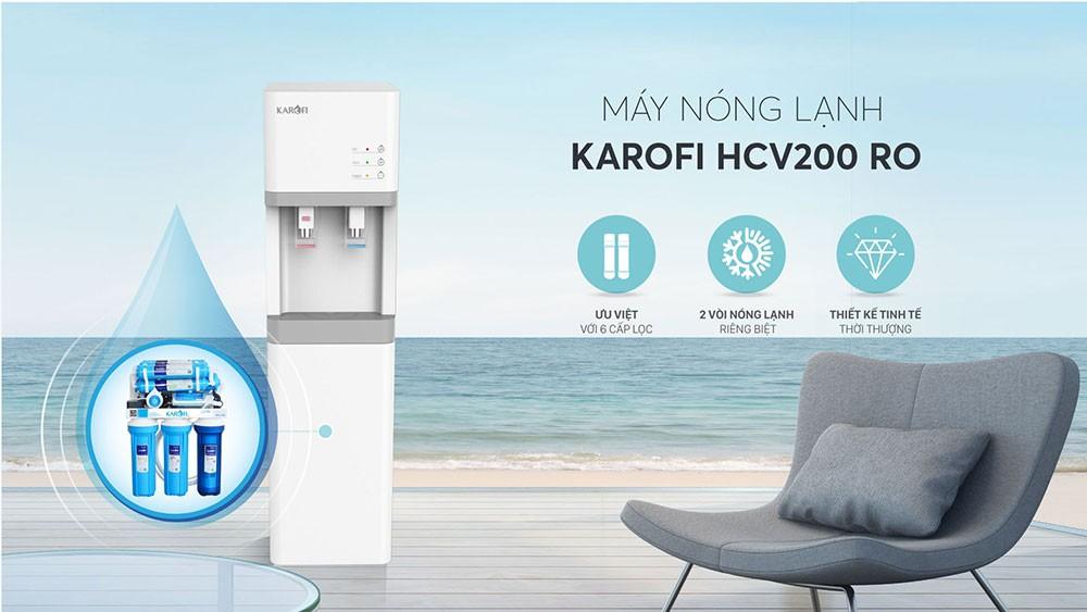 Máy lọc và làm nóng lạnh nước Karofi HCV200RO lấy được lòng tin của rất nhiều người