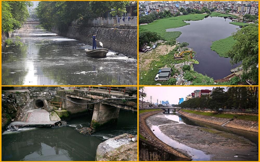 Nguồn nước ô nhiễm trầm trọng tại Hà Nội
