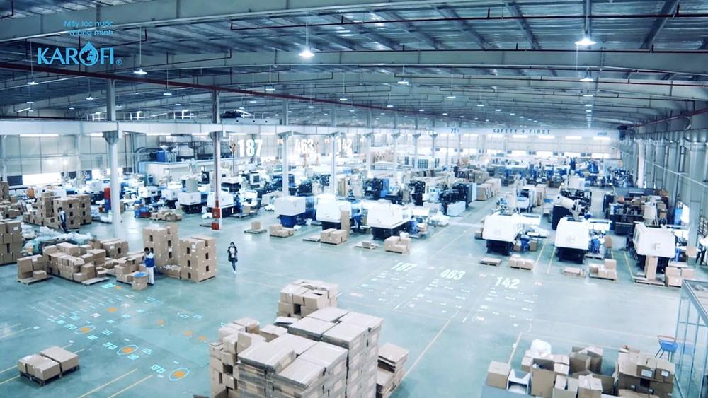Nhà máy sản xuất máy lọc nước Karofi
