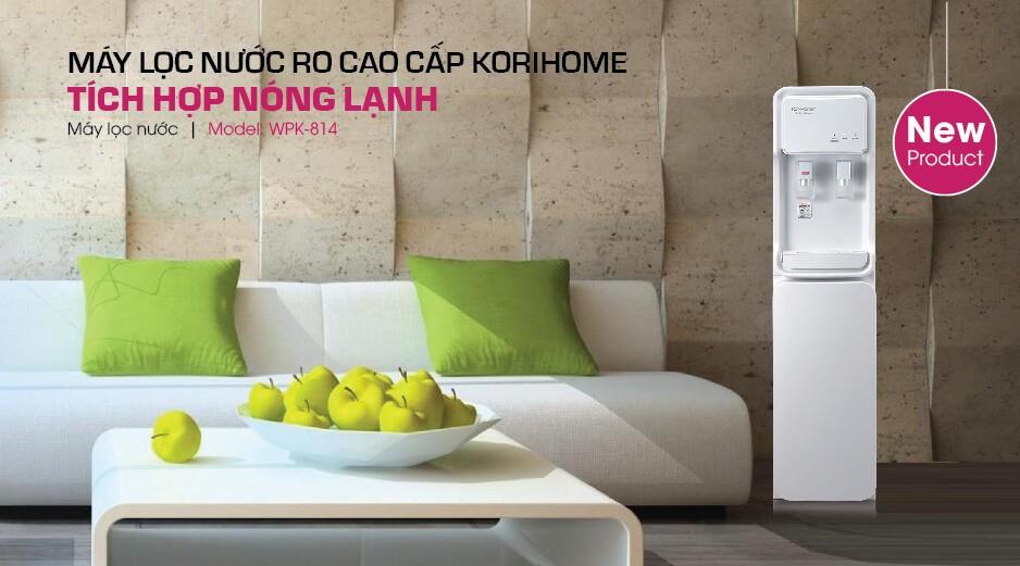 Thiết kế máy lọc nước KoriHome WPK 814