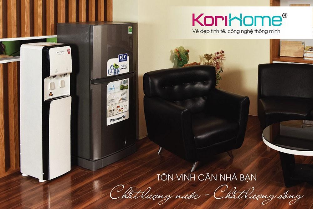 Thiết kế của máy lọc nước korihome wpk 838