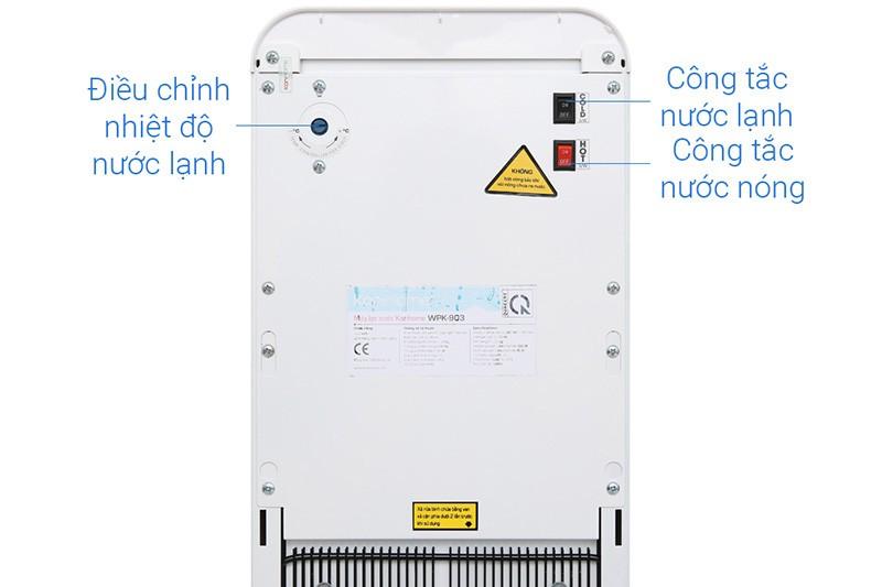 WPK 903 được trang bị van điều chỉnh nhiệt độ nước
