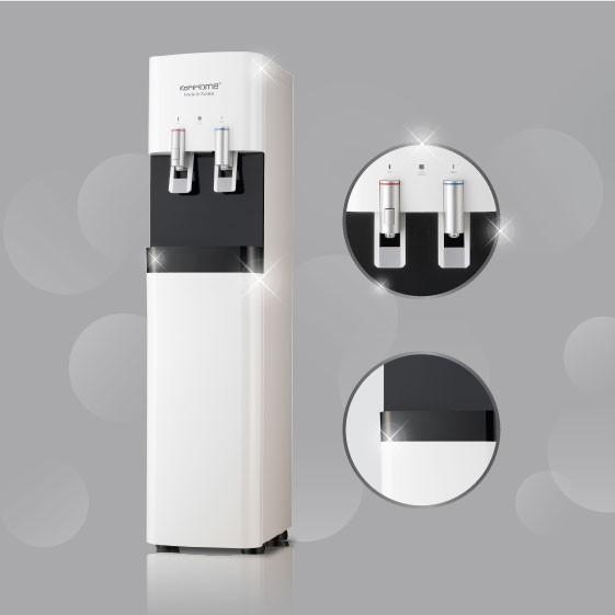 KoriHome WPK-918 trang bị 2 vòi máy lọc nước nóng lạnh cao cấp