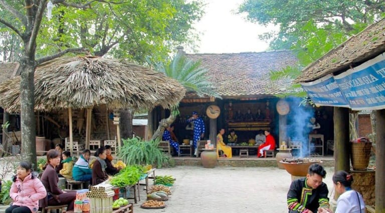 Tái hiện không gian văn hóa truyên thống tại Long Việt Ba Vì