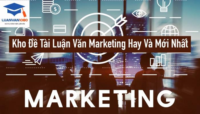 luận văn marketing