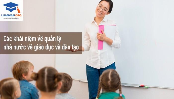 Nội dung chủ yếu quản lý nhà nước về giáo dục và đào tạo ở nước ta