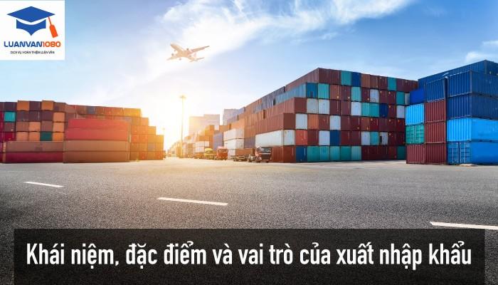 Khái niệm của xuất nhập khẩu