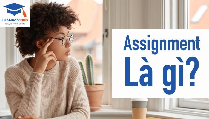 Assignment là gì? Bí quyết để assignment đạt điểm cao