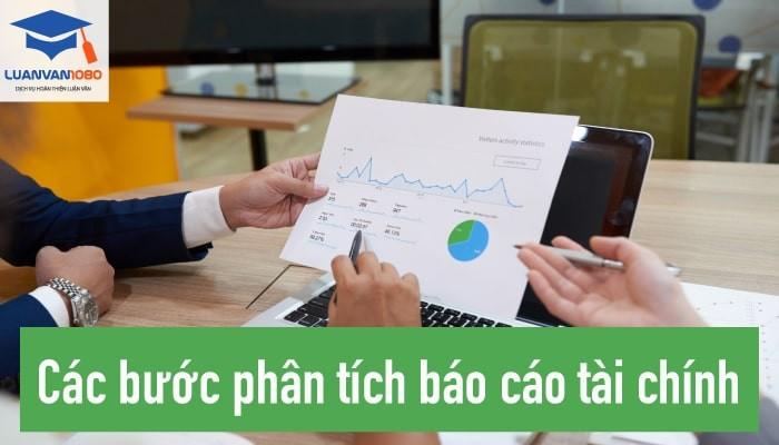 Các bước phân tích báo cáo tài chính