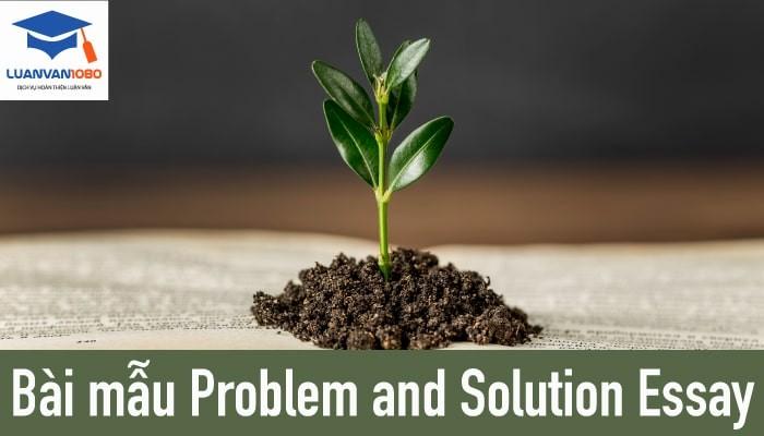 Bài problem and solution essay mẫu