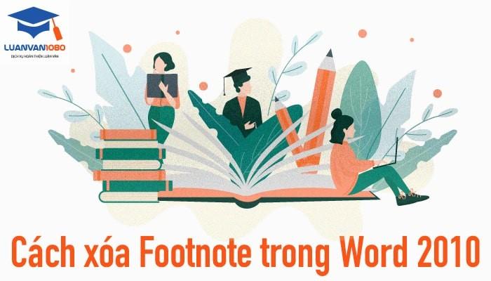 Cách xóa Footnote trong Word 201