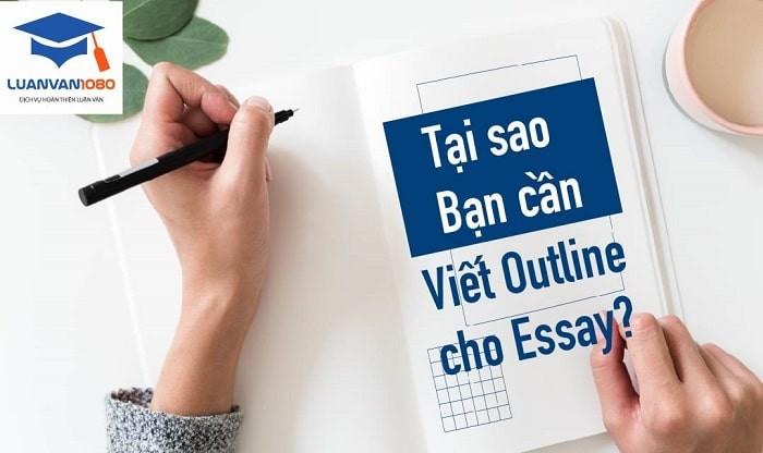 Hướng dẫn cách viết outline cho essay chi tiết