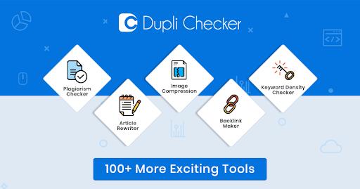 Công cụ check đạo văn DupliChecker