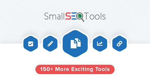 Tool check đạo văn SmallSEOTools