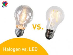 Cách thay thế đèn halogen bằng đèn LED