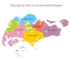 Danh sách mã zip code Singapore của Các Thành Phố mới nhất 2021
