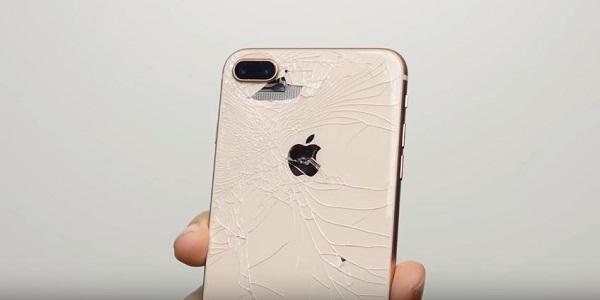 Thay Mặt kính sau iPhone 8 Plus