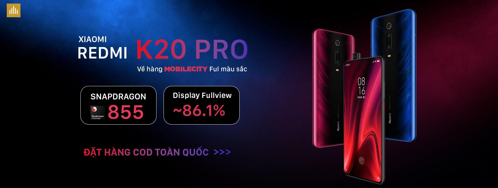 Đặt hàng Xiaomi Redmi K20 Pro