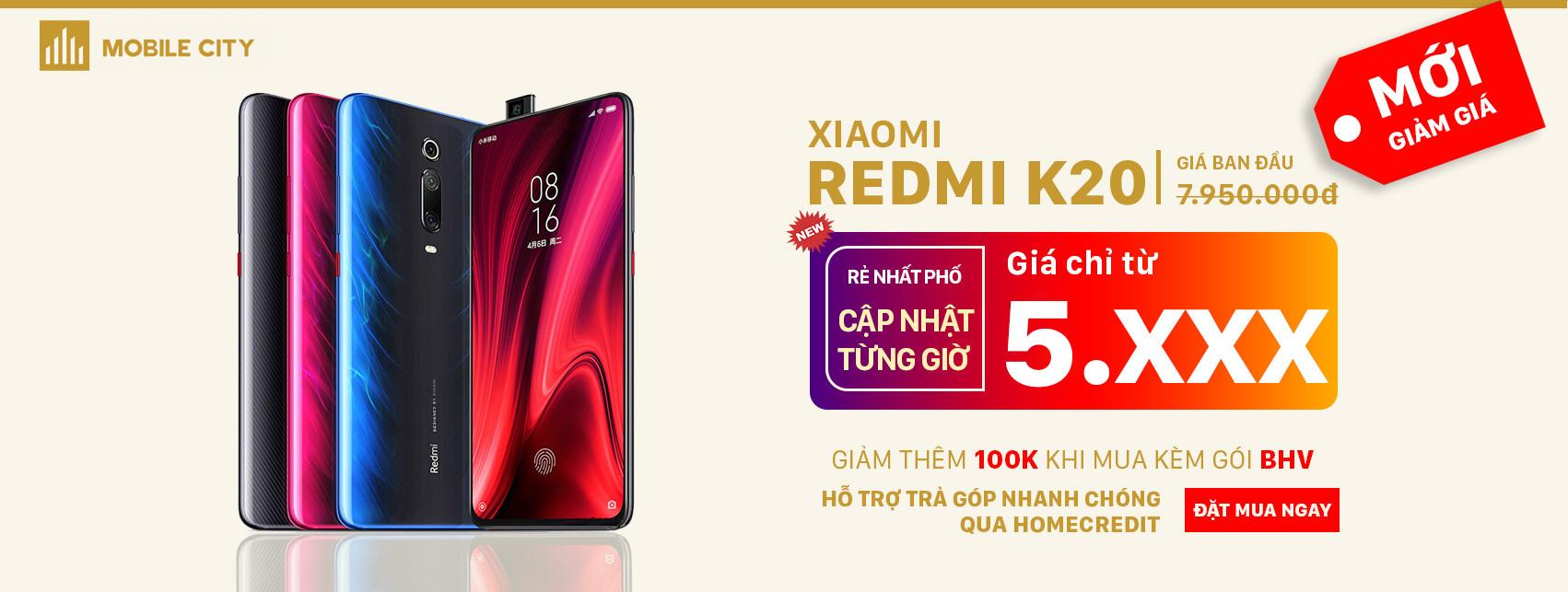 Đặt hàng Xiaomi Redmi K20