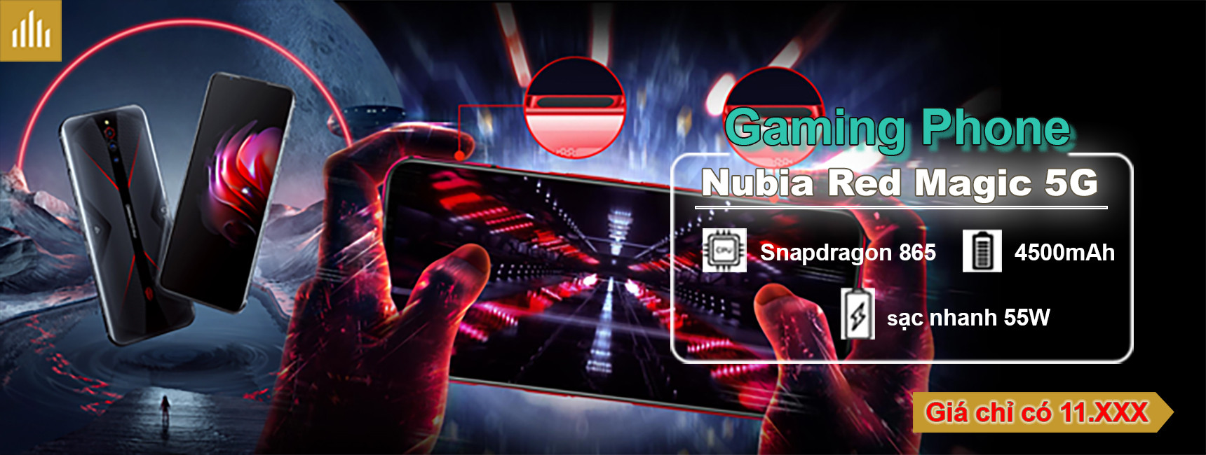 Nubia Red Magic 5G (Gaming Phone)