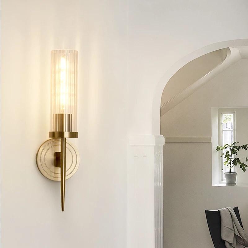 đèn tường nến đơn