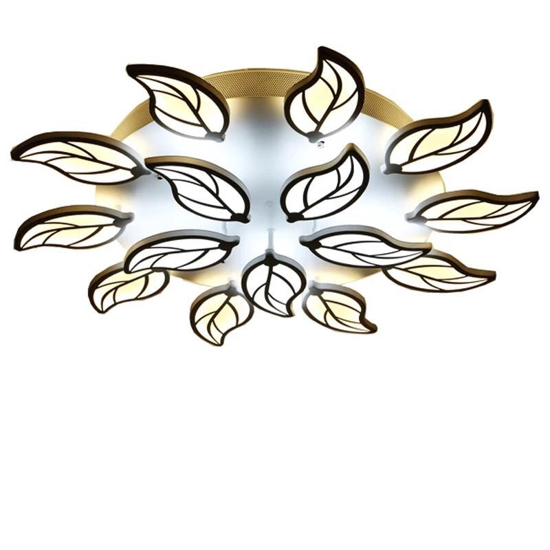mẫu đèn ốp trần hình lá | Ảnh 4