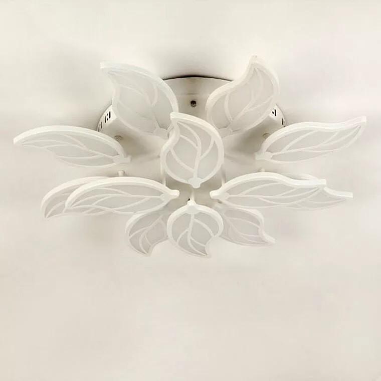 mẫu đèn ốp trần hình lá | Ảnh 3