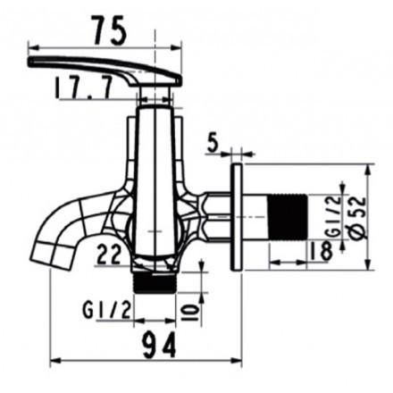 voi-tam-sen-lanh-american-standard-a-7605c
