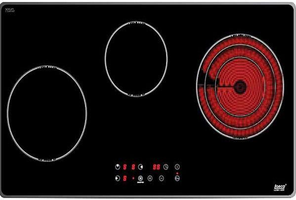 Bếp điện từ Lorca LCE 307 ba vùng nấu cao cấp
