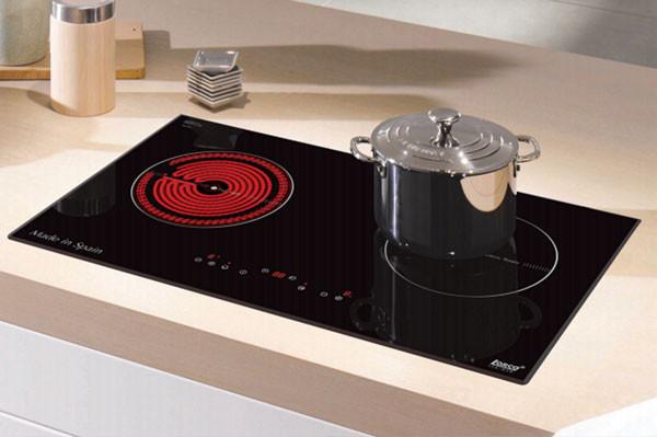 Bếp điện từ LORCA LCE 819 hai vùng nấu tiện lợi
