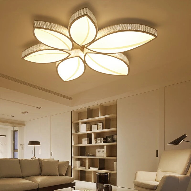 đèn ốp trần LED hiện đại