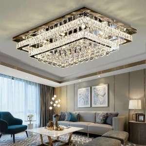 Các mẫu đèn ốp trần phòng khách hot nhất 2019
