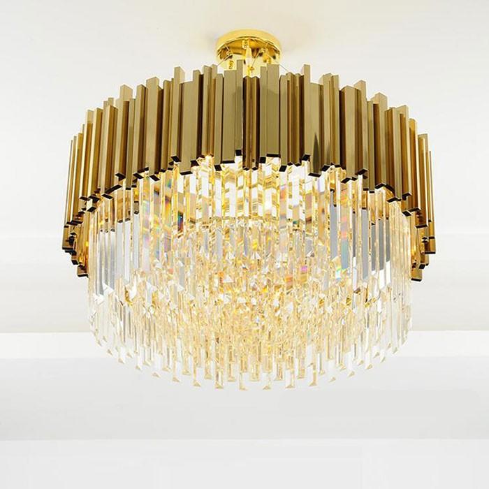 Đèn thả trần pha lê thủy tinh trang trí phòng bếp