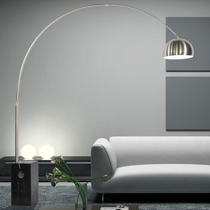 Đèn cây đứng phòng ngủ Bow đế tròn - Đèn cây đứng