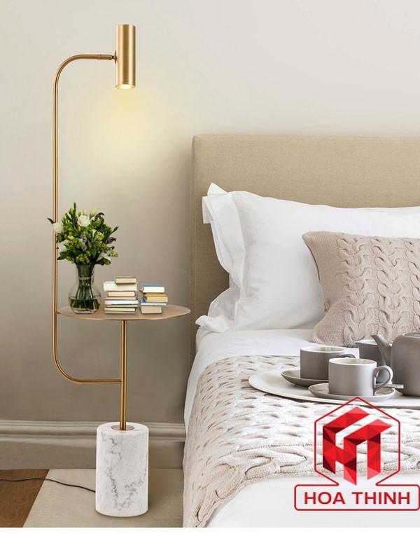 Đèn cây đứng phòng ngủ - đèn cây trang trí phòng ngủ