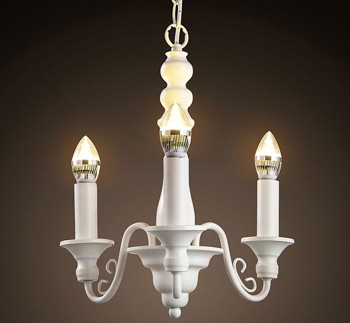 Đèn chùm nến thiết kế tối giản- Đèn chùm đồng