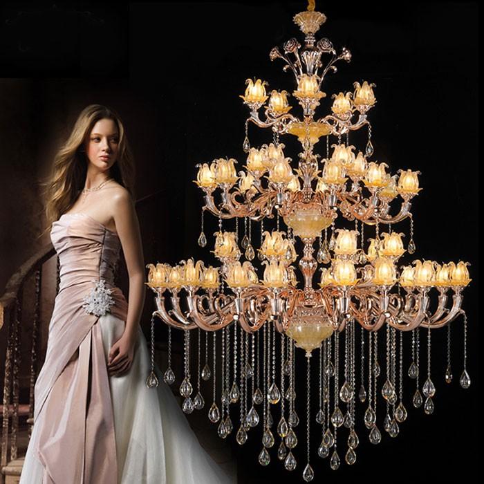 Đèn chùm nến phong cách tân cổ điển
