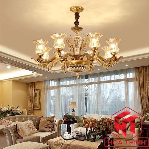 Đèn trang trí chùm phòng khách - Đèn chùm trang trí phòng khách