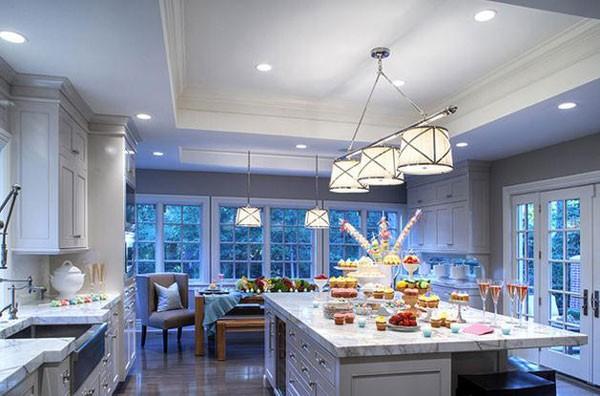 Đèn LED trang trí nội thất phòng ăn - Đèn trang trí