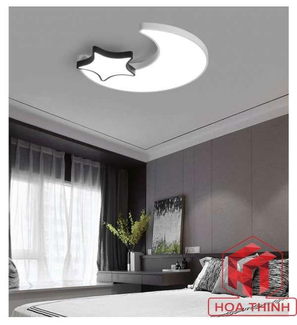 Đèn mâm ốp trần phòng ngủ - Đèn ốp trần mâm phòng ngủ