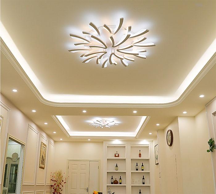 Đèn trần phòng khách hiện đại