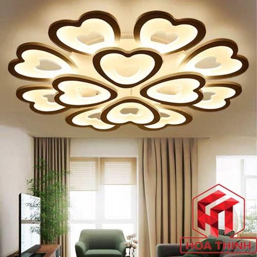 Đèn trang trí ốp trần phòng khách - Đèn ốp trần trang trí phòng khách