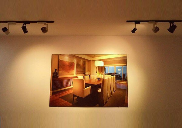 Đèn soi tranh - Đèn rọi tường - Đèn rọi ray