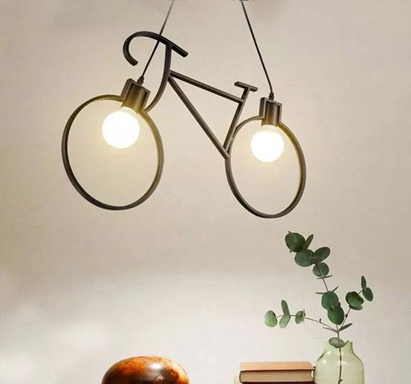 Đèn thả quán cafe nghệ thuật- Đèn thả
