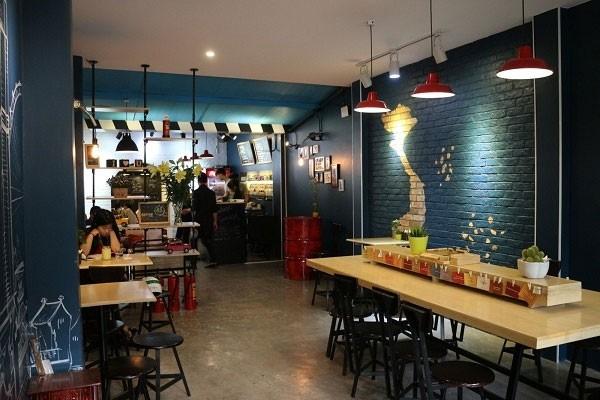 Đèn thả trần quán cafe nghệ thuật -Đèn thả trần quán cà phê nghệ thuật