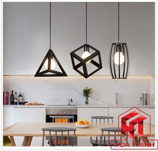 Đèn bàn thả trần phòng bếp cao cấp
