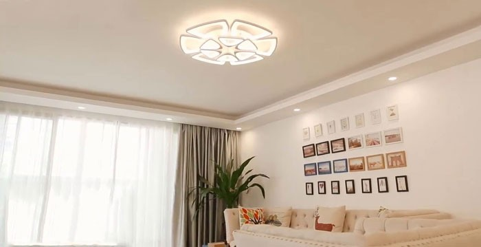 Đèn LED ốp trần phòng ngủ - Đèn ốp trần