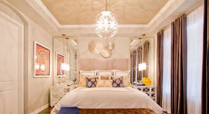 Đèn trần phòng ngủ hiện đại - Đèn thả trần